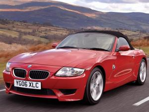 BMW Z4 M Roadster (UK) '2006
