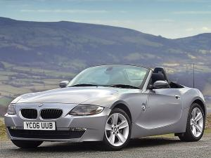 BMW Z4 Roadster (UK) '2006