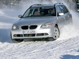 BMW 530xi Touring 2007 года