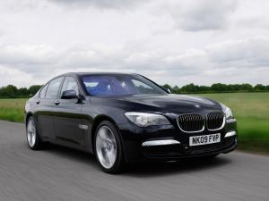 BMW 7-Series M Sport Package 2009 года (UK)
