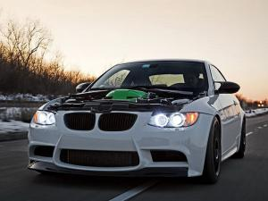 2010 BMW M3 Coupe Green Hell VT2-600 by IND Distribution