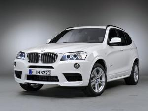 BMW X3 xDrive 3.5i M Sport Package 2010 года