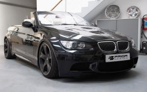 BMW M3 Convertible PD-M Widebody Aerodynamic Kit by Prior Design 2011 года