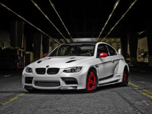 2011 BMW M3 Coupe GTRS3 Candy Cane by Vorsteiner