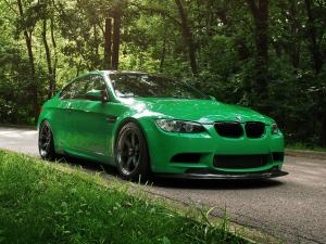 BMW M3 Coupe Green Hell S65 by IND Distribution 2011 года