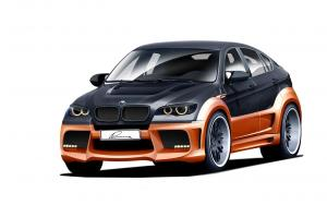 BMW X6 CLR X 650 by Lumma Design 2011 года