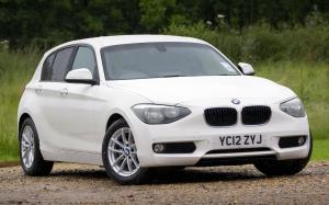 BMW 116d Urban Line 5-Door 2012 года (UK)