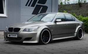 BMW 5-Series PD Widebody Aerodynamic Kit by Prior Design 2012 года