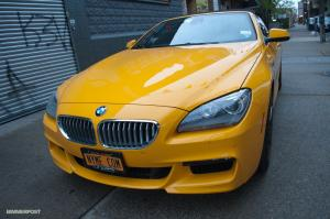 BMW 6-Series Convertible Atacama Yellow 2012 года