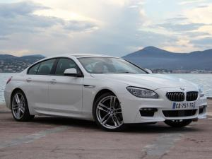 2012 BMW 640d Gran Coupe M Sport Package