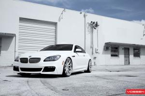 2012 BMW 650i Vossen VVS-CV1 by SR Auto Group