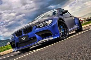 BMW M3 GTRS3 Black Version by Vorsteiner 2012 года