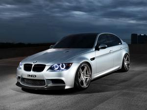BMW M3 Sedan Silver Ghost by IND Distribution 2012 года