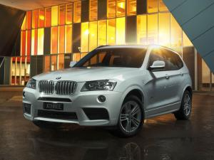 2012 BMW X3 xDrive 3.0d M Sport Package