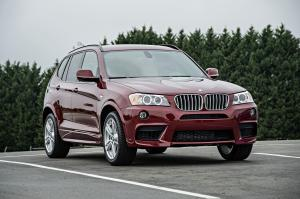 BMW X3 xDrive 3.5i M Sport Package 2012 года (US)