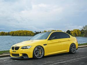 2013 BMW M3 Sedan Dakar Yellow by IND Distribution