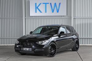 BMW 116i Black by KTW Tuning 2014 года