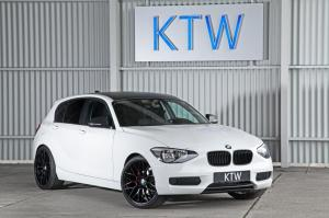 BMW 116i White by KTW Tuning 2014 года