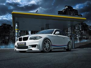 BMW 135i Coupe by Rieger Tuning and Dotz Shift 2014 года