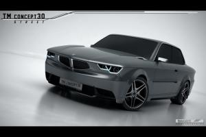 BMW 3-Series Coupe Concept30 by TMCars 2014 года