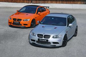 BMW M3 GTS and 2014 BMW M3 CRT by G-Power 2014 года