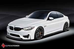BMW M4 Coupe Render by Vorsteiner 2014 года