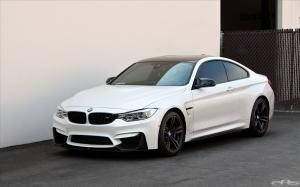 2014 BMW M4 Coupe White by EAS