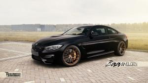 2014 BMW M4 Coupe by Baan Velgen and HRE Wheels