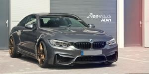 BMW M4 Coupe on Golden ADV.1 Wheels 2014 года