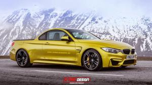 BMW M4 Pickup by X-Tom Design 2014 года