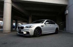 BMW M5 Moonstone by 3D Design 2014 года