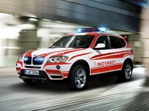 BMW X3 Paramedic Vehicle 2014 года
