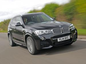 2014 BMW X3 xDrive 3.5d M Sport Package