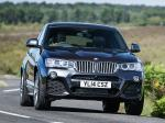 BMW X4 xDrive 3.0d M Sports Package 2014 года (UK)
