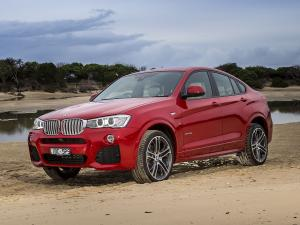 BMW X4 xDrive 3.5i M Sports Package 2014 года (AU)