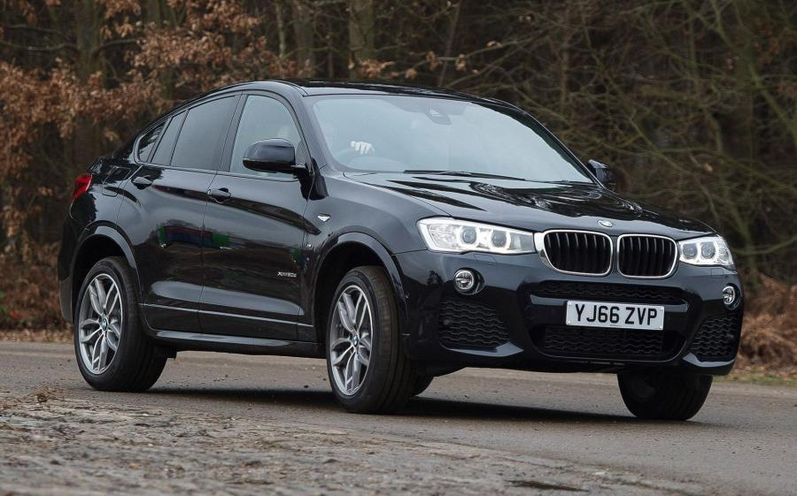 2014 BMW X4 xDrive20d M Sport (UK)