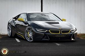 2014 BMW i8 Concept by Manhart Racing