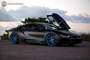 2014 BMW i8 on HRE Wheels