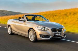 2015 BMW 220i Convertible Luxury Line