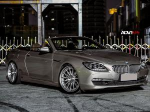 2015 BMW 650i Convertible on ADV.1 Wheels (ADV15 Track Spec)