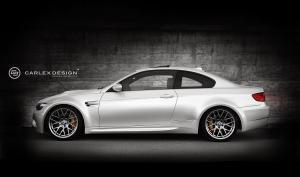 BMW M3 Coupe Black Spinell by Carlex Design 2015 года