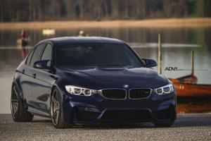 BMW M3 Sedan on ADV.1 Wheels (ADV05MV2) 2015 года