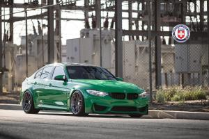 2015 BMW M3 Sedan on HRE Wheels (HRE R101)