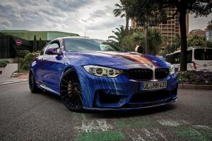 2015 BMW M4 Coupe Art Car by Hamann