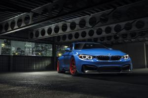2015 BMW M4 Coupe GTRS4 Yas Marina Blue Anniversary Edition by Vorsteiner