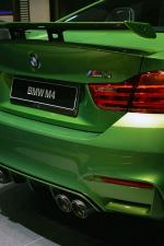 BMW M4 Coupe Java Green by Abu Dhabi Motors 2015 года