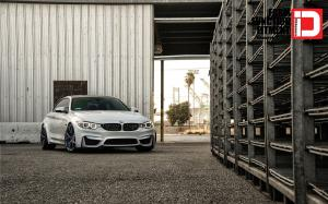 BMW M4 Coupe Midnight Frost M52R Wheels by Klassen 2015 года