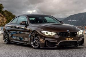 BMW M4 Coupe Pyrite Brown by IND 2015 года