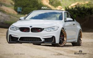 BMW M4 Coupe by R1 Motorsport on ADV.1 Wheels (ADV7TRACK) 2015 года