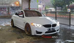 BMW M4 Coupe on ADV.1 Wheels (ADV05MV2CS) 2015 года